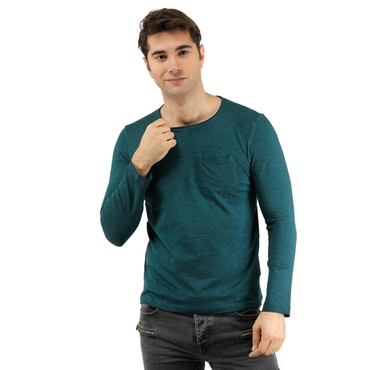 Yeşil Erkek Sweatshirt 1122OB5110KYE