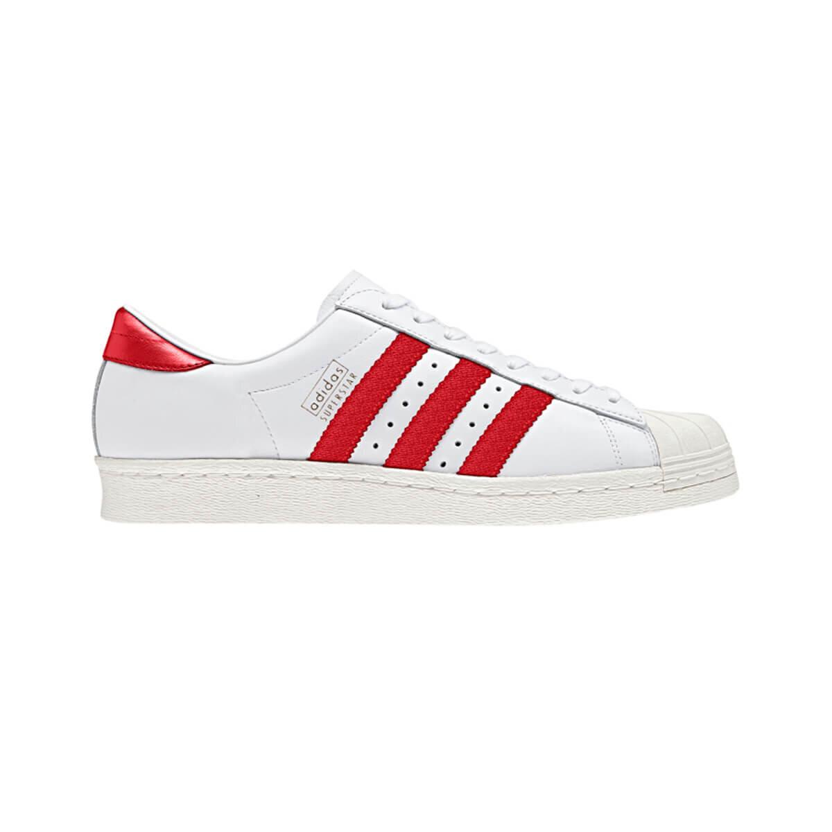Beyaz Kadın Sneaker Ayakkabı SUPERSTAR OG