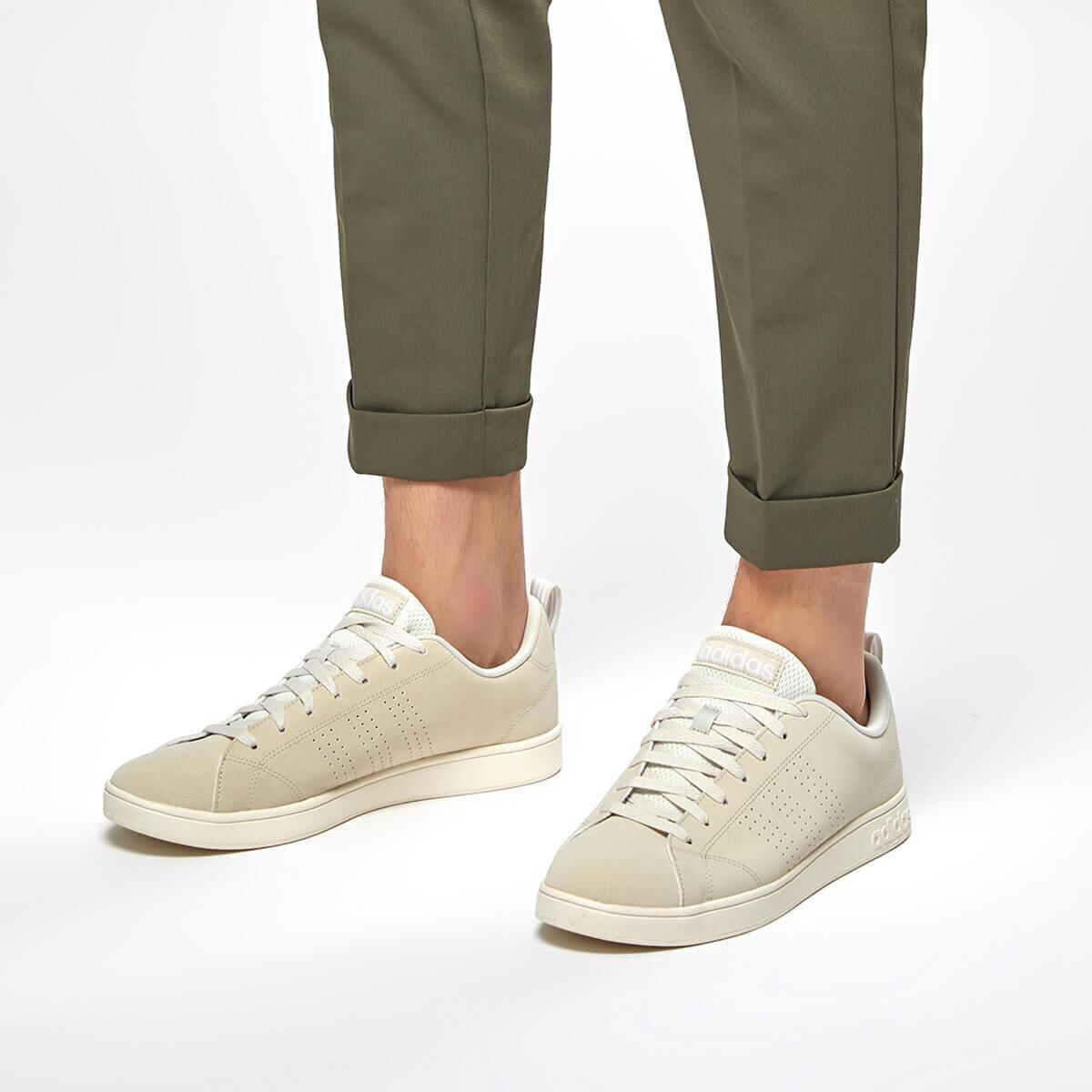 BEYAZ Erkek Tenis Ayakkabısı VS ADVANTAGE CL
