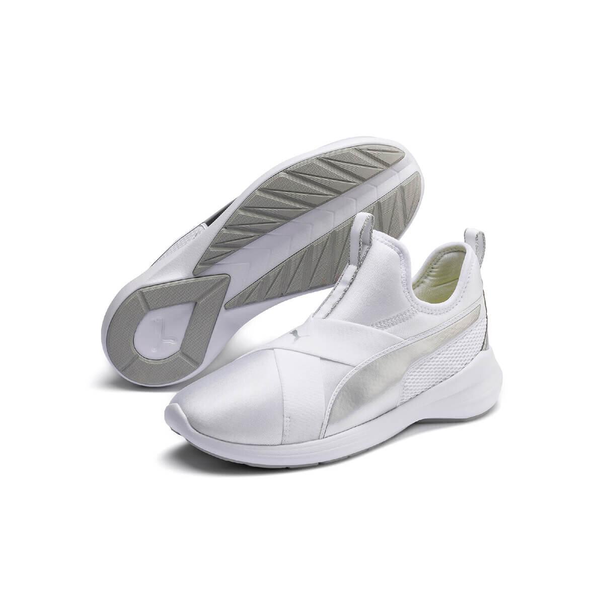 BEYAZ Kadın Koşu Ayakkabısı REBEL X TRAILBLAZER