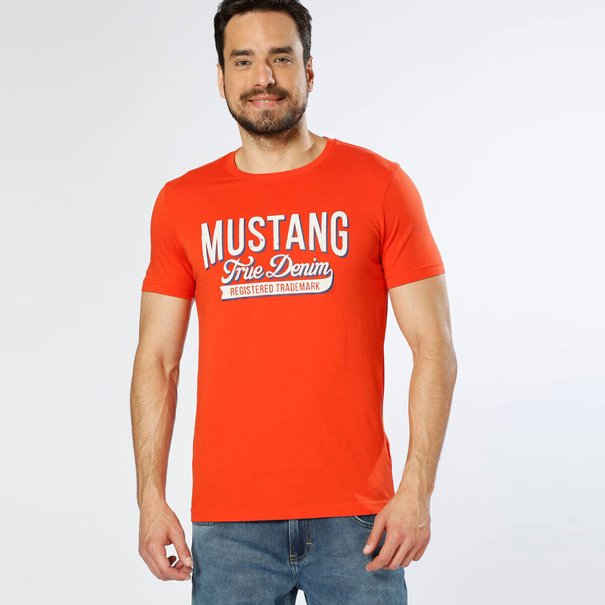 TURUNCU Erkek T-Shirt 04-M00104-800