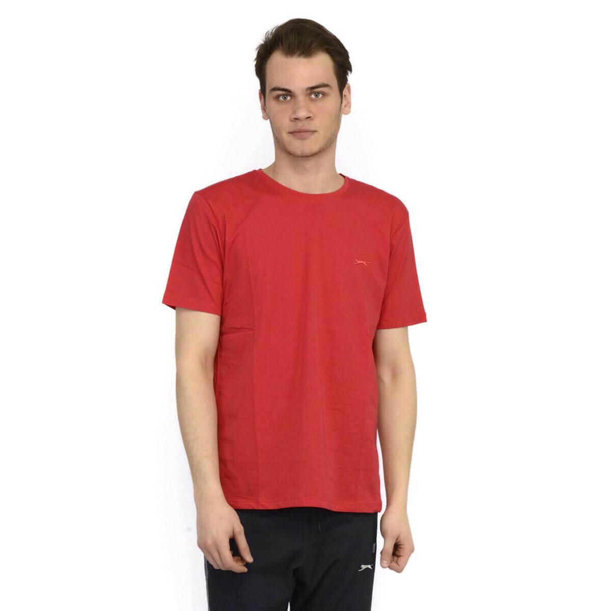 Kırmızı Erkek Kısa Kol T-Shirt SANDER