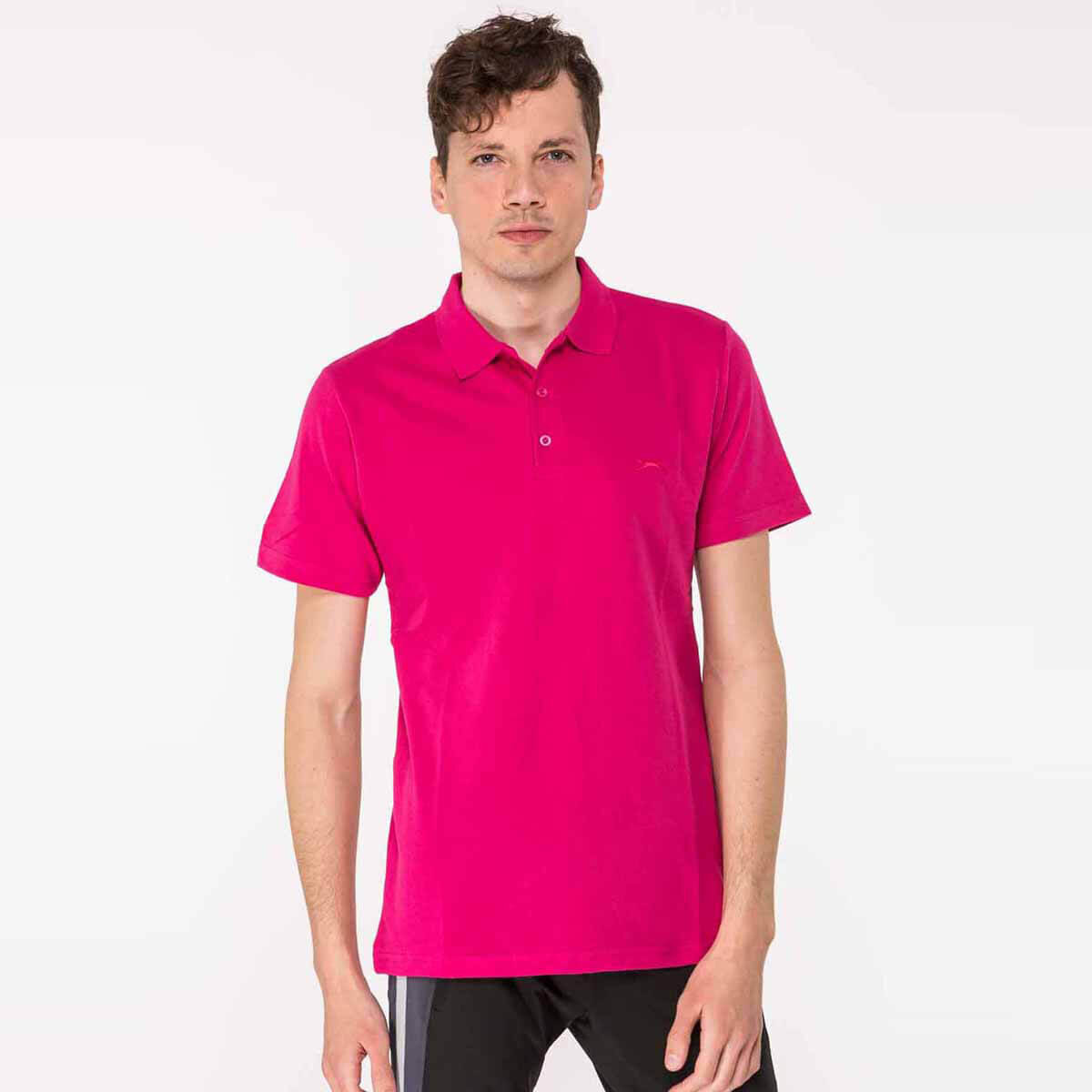 Fuşya Erkek T-Shirt SALVATOR