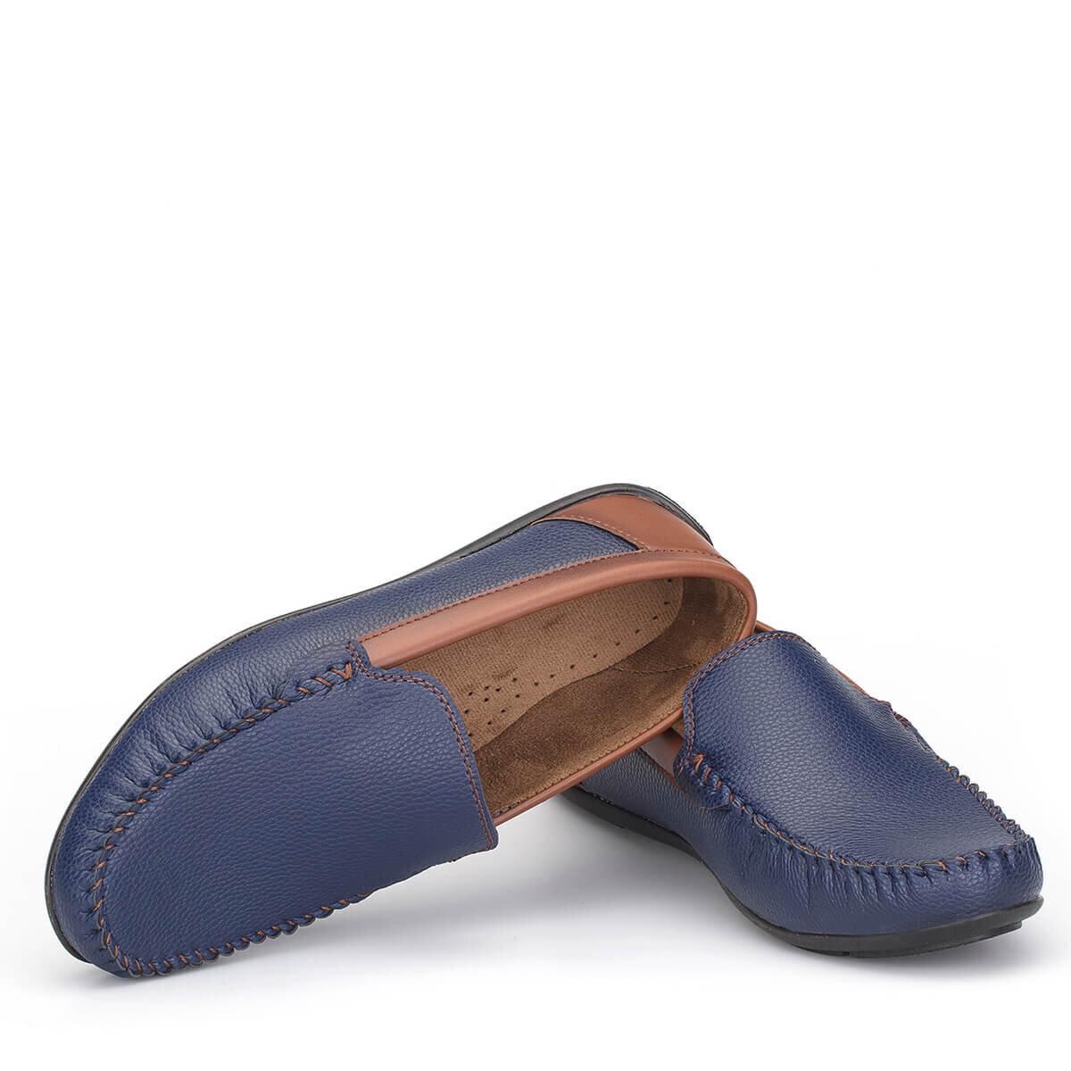 Lacivert Erkek Loafer Ayakkabı LFR001LCTBX