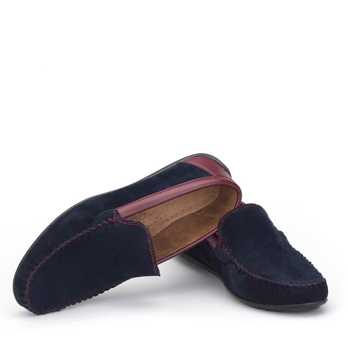 Lacivert Erkek Loafer Ayakkabı LFR002LCBRX