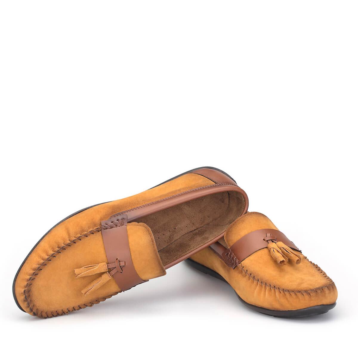 Hardal Erkek Loafer Ayakkabı LFR005HRTBX