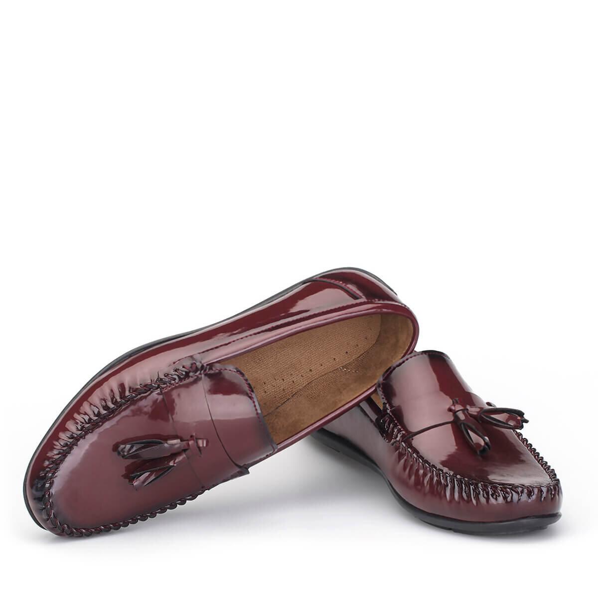 BORDO Erkek Loafer Ayakkabı LFR007BRBRX