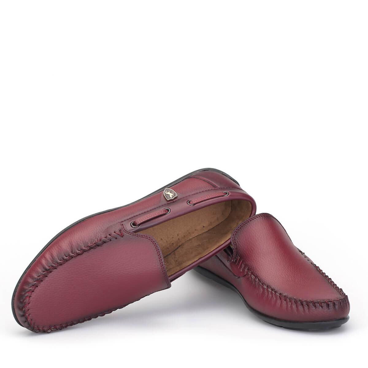 BORDO Erkek Loafer Ayakkabı LFR009BRBRX