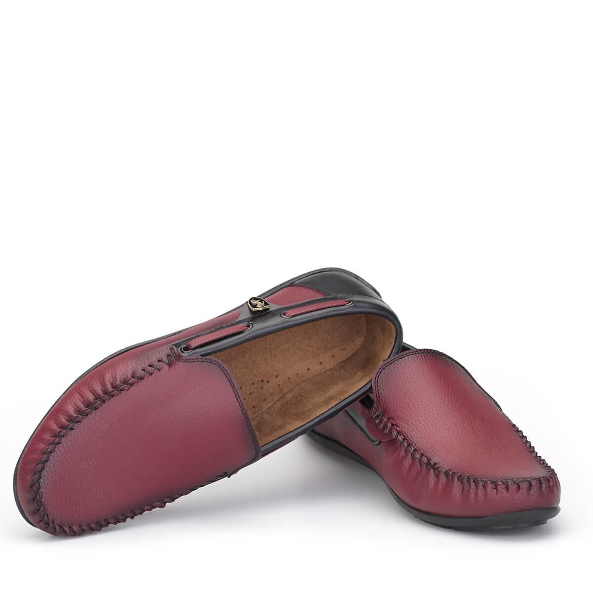 BORDO Erkek Loafer Ayakkabı LFR009BRSYX
