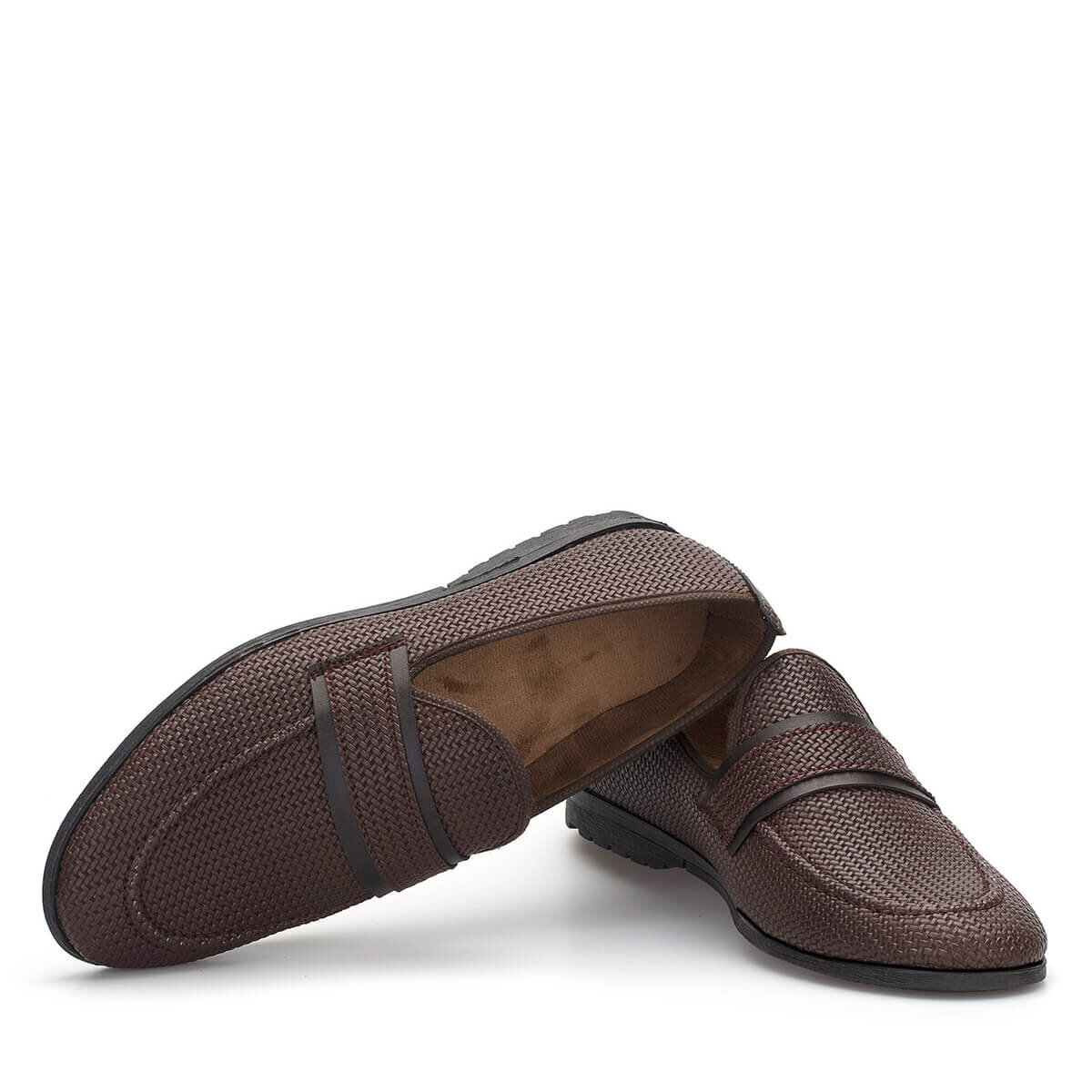 Kahverengi Erkek Loafer Ayakkabı LFR129KHKHX