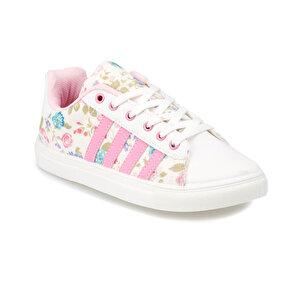 Kinetix  Beyaz Kız Çocuk Sneaker Ayakkabı Vulda F