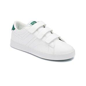 Kinetix  Beyaz Kadın Sneaker Ayakkabı Suprem Velcro W