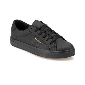 Kinetix  Sıyah Kadın Sneaker Ayakkabı Poro 9pr