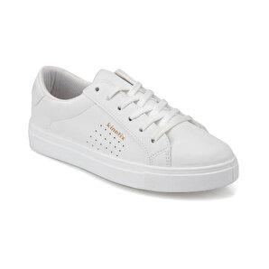Kinetix  Beyaz Kadın Sneaker Ayakkabı Poro 9pr