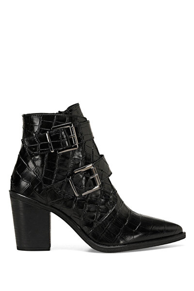 Nine West BUCLE Siyah Kadın Topuklu Bot