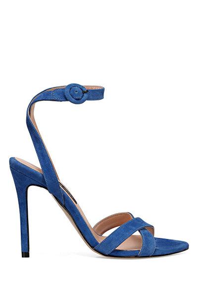 Nine West TOMI Saks Kadın Topuklu Sandalet