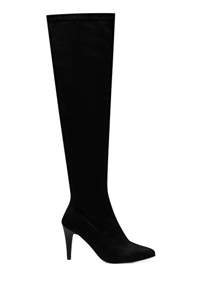Nine West MORIE Siyah Kadın Diz Üstü Çizme