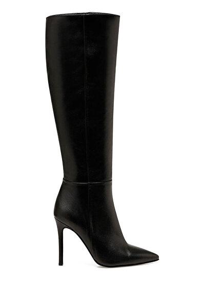 Nine West MISTA Siyah Kadın Topuklu Çizme