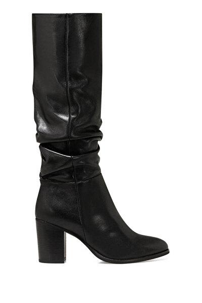Nine West GAYDA Siyah Kadın Topuklu Çizme