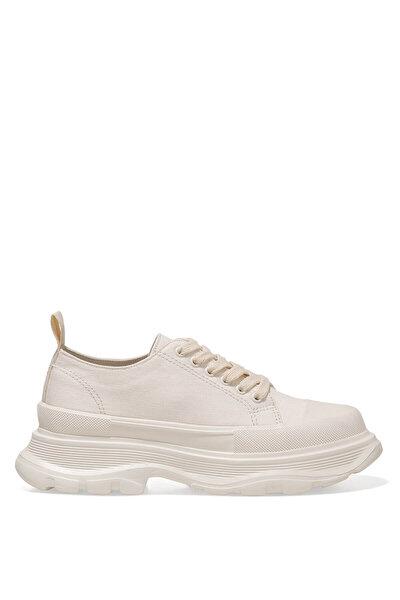Nine West MOREN 1FX Krem Kadın Sneaker