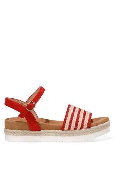 Nine West NURUNA 1FX Kırmızı Kadın Düz Sandalet