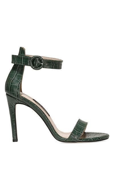 Nine West LINDIT 1FX Yeşil Kadın Topuklu Sandalet