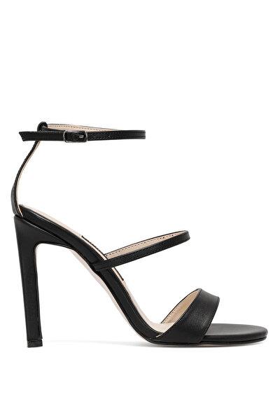 Nine West NOLAME 1FX Siyah Kadın Topuklu Sandalet