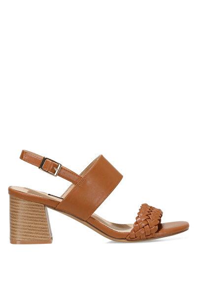 Nine West BRANTSON 1FX Taba Kadın Topuklu Sandalet