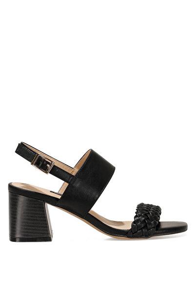 Nine West BRANTSON 1FX Siyah Kadın Topuklu Sandalet