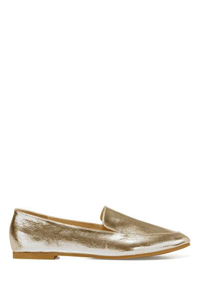 Nine West LEFUR Altın Kadın Loafer