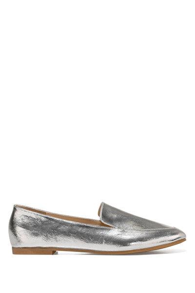 Nine West LEFUR Gümüş Kadın Loafer
