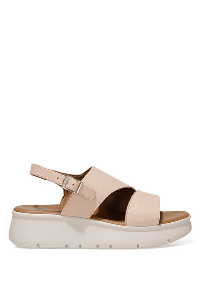 Nine West GUMA 1FX Pudra Kadın Dolgu Topuk Sandalet