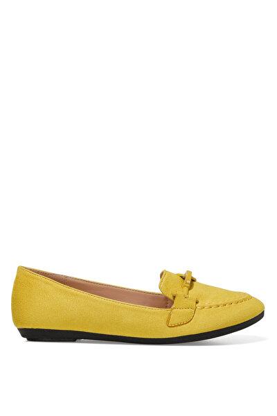 Nine West MAED 1FX Sarı Kadın Loafer