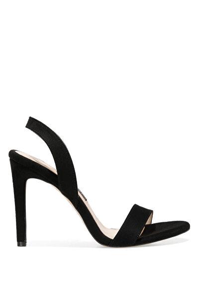Nine West SEMINNA 1FX Siyah Kadın Topuklu Sandalet