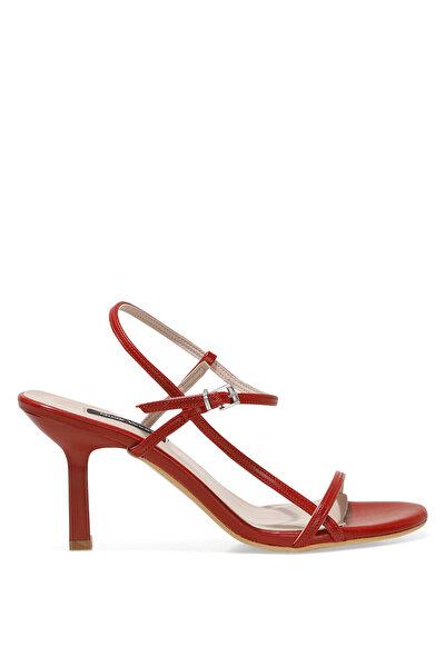 Nine West REBELL 1FX Kırmızı Kadın Topuklu Sandalet
