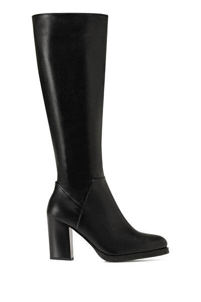 Nine West GIZMY Siyah Kadın Topuklu Çizme
