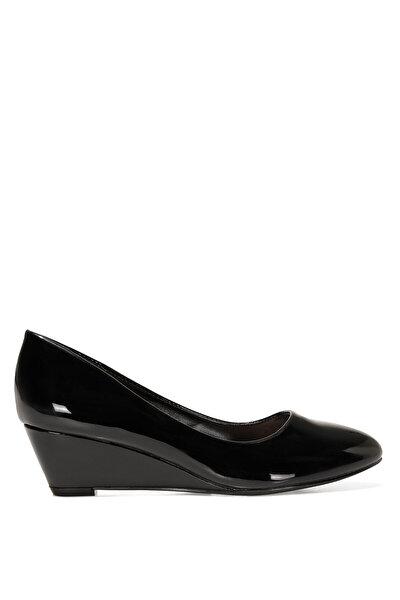 Nine West LICLA 1FX Siyah Kadın Dolgu Topuk Ayakkabı