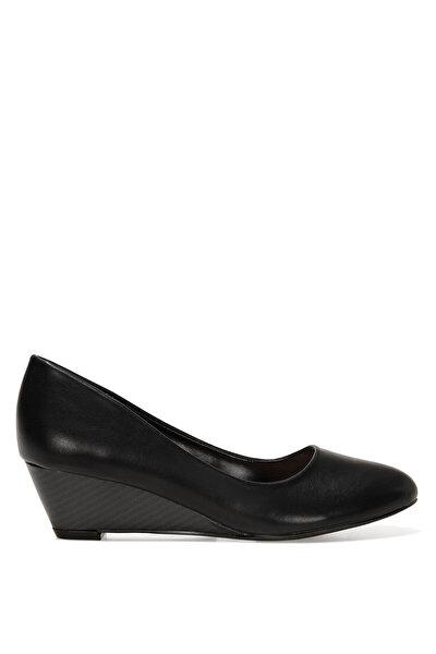Nine West LICLA2 1FX Siyah Kadın Dolgu Topuk Ayakkabı