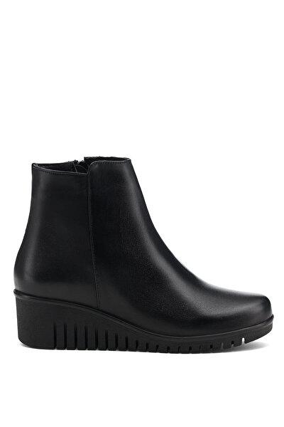 Nine West ALEXX 1PR Siyah Kadın Dolgu Topuk Ayakkabı