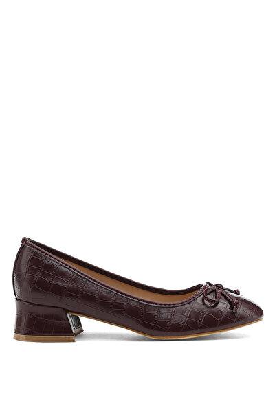 Nine West PORIA 1PR Bordo Kadın Gova Ayakkabı