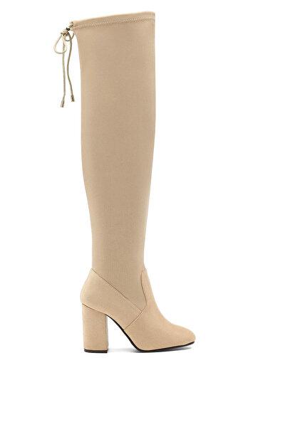 Nine West CIRKA 1PR NUDE Kadın Topuklu Çizme