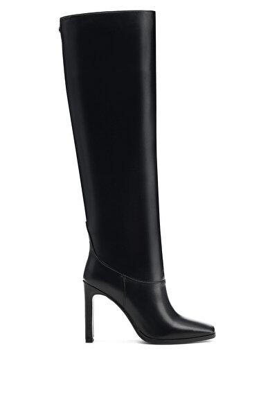 Nine West EPIKAT 1PR Siyah Kadın Topuklu Çizme