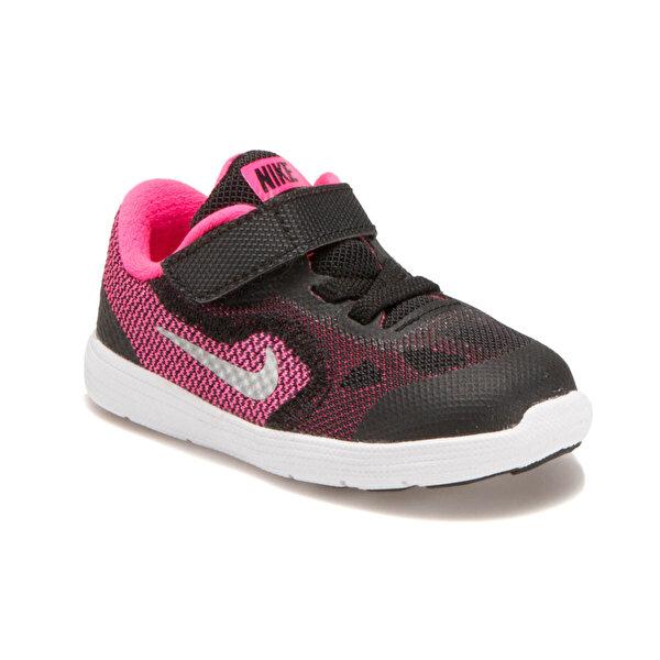Nike REVOLUTION 3 (TDV) Siyah Kız Çocuk Koşu Ayakkabısı