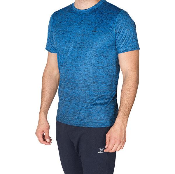 Kinetix SQUAD  T-SHİRT Saks Erkek T-Shirt
