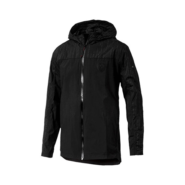 Puma FERRARI NIGHTCAT Siyah Erkek Ceket