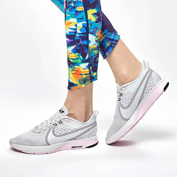 Nike WMNS  ZOOM STRIKE 2 Beyaz Kadın Koşu Ayakkabısı