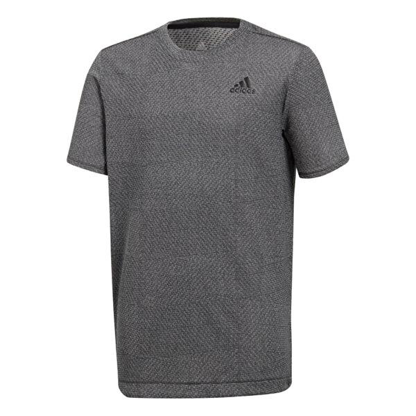 Adidas YB TR KNIT Antrasit Erkek Çocuk T-Shirt