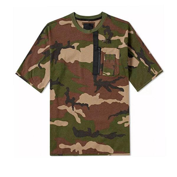 THE NORTH FACE M SHELT CHESTPOCKTEE TERR Kamuflaj Rengi Erkek T-Shirt
