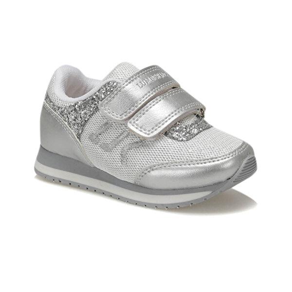 Lumberjack RUN Gümüş Kız Çocuk Koşu Ayakkabısı