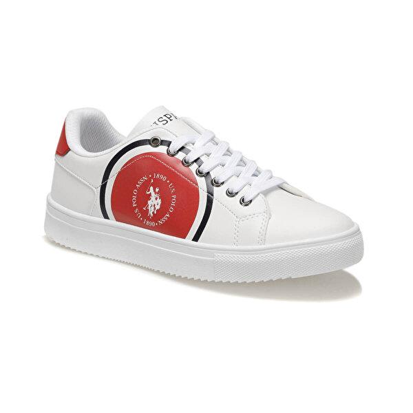 U.S. Polo Assn. NICOLAS Beyaz Kadın Sneaker Ayakkabı